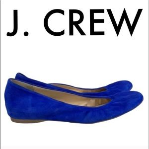 👑 J. CREW SUEDE FLATS 💯AUTHENTIC